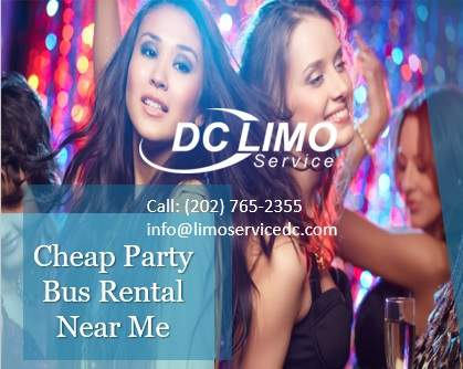 Cheap Party Bus Near Me